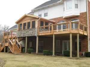 Wood Decking St Louis MO