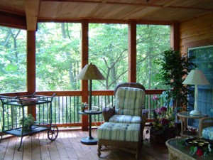 Screened in Porch St. Louis
