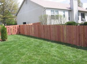 Wood Fence O'Fallon Ballwin Wildwood